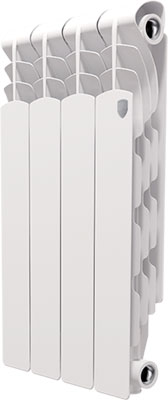 Водяной радиатор отопления Royal Thermo Revolution 500 - 4 секц.  royal thermo revolution 500 4 секции
