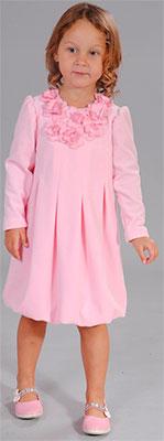 Платье Fleur de Vie 24-1440 рост 92 розовый футболка и шорты fleur de vie арт 24 0060 рост 92 синий