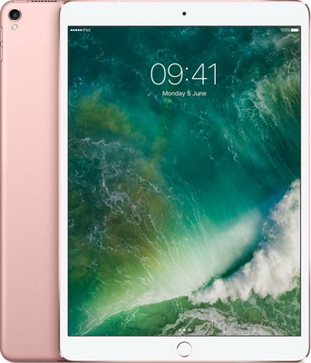 Планшет Apple iPad Pro 10.5 512 Gb Wi-Fi + Cellular розовое золото (MPMH2RU/A) apple macbook 12 mlhf2 ru a gold intel® 1200 мгц 8 гб 12 wi fi