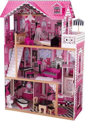 Кукольный дом KidKraft Амелия с мебелью в подарочной упаковке kidkraft кукольный стульчик для кормления куклы kidkraft