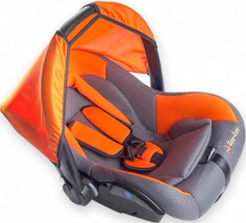 купить Автокресло Еду-Еду KS-321  0-13 кг  с вкладышем  Серо-оранжевый по цене 2380 рублей
