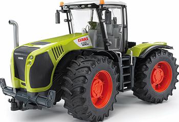 Трактор Bruder Claas Xerion 5000 с поворачивающейся кабиной 03-015 трактор bruder claas axion 950 03 012