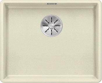 Кухонная мойка BLANCO SUBLINE 500-F жасмин с отв.арм. InFino 523536