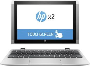Планшет HP x2 10-p 003 ur Natural Silver (Y5V 05 EA) автомобильный блок питания для ноутбука hp usb c auto adapter для hp elite x2 1012 g2 pro x2 612 g2 hp x2 210 tablet elite x3 elite tablet x2 1012 g1 hp x2 210 tablet g1 pro tablet 608 g1