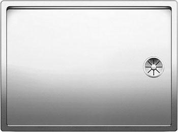 Кухонная мойка BLANCO CLARON 550-T-IF нерж. сталь зеркальная полировка 521563 franke kbx 110 34 нерж сталь зеркальная
