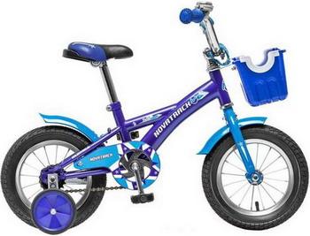 Велосипед Novatrack 12 Delfi синий/голубой 124 DELFI.BL5 детский велосипед novatrack delfi 14 2015 blue