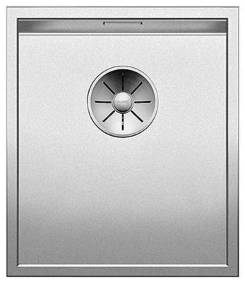 Кухонная мойка BLANCO ZEROX 340-U нерж.сталь Durinox с отв. арм. InFino без клапана авт 521556 кухонная мойка blanco zerox 400 u нерж сталь durinox с отв арм infino без клапана авт 521558