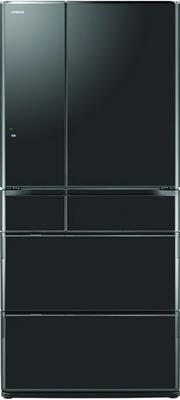 Многокамерный холодильник Hitachi R-G 690 GU XK черный кристалл hama l h 108779 черный 45кг 50