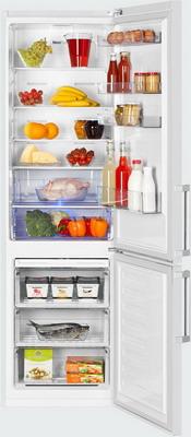 Двухкамерный холодильник Beko RCNK 356 E 21 W двухкамерный холодильник beko rcne 520 e 21 zx