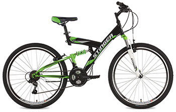Велосипед Stinger 26 SFV.BANZAI.20 BK8 26'' Banzai 20'' черный велосипед stinger valencia 2017