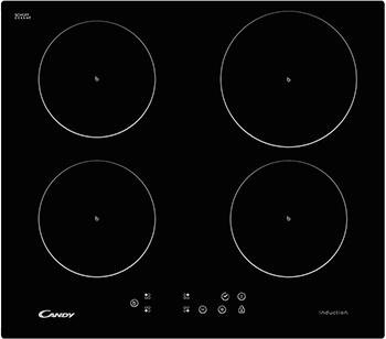 Встраиваемая электрическая варочная панель Candy CI 640 CB варочная панель электрическая candy ci 640 cb черный