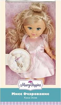 Кукла Mary Poppins «Мисс Очарование» с роз. Браслетом 451212 spa программа мисс очарование