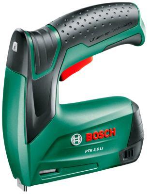 Степлер Bosch PTK 3 6 LI (0603968120) степлер электрический bosch ptk 14 edt 0 603 265 520