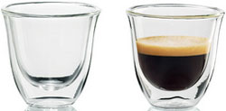 Чашки DeLonghi Espresso cups кофемашина delonghi ecam 45 760 w белый
