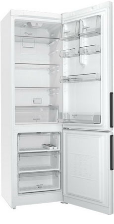 Двухкамерный холодильник Hotpoint-Ariston HF 5200 W холодильник hotpoint ariston hf 5200 s двухкамерный серебристый