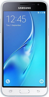 где купить Мобильный телефон Samsung Galaxy J3 (2016) SM-J 320 F 8GB белый дешево
