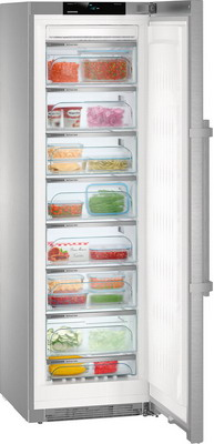 Морозильник Liebherr GNPes 4355 морозильная камера liebherr gnpes 4355 20 001 серебристый