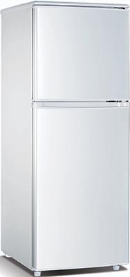 Двухкамерный холодильник Bravo XRD-120 W холодильник с морозильной камерой bravo xrd 150