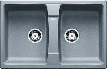 Кухонная мойка BLANCO LEXA 8 SILGRANIT алюметаллик мойка lexa 8 coffee 515063 blanco