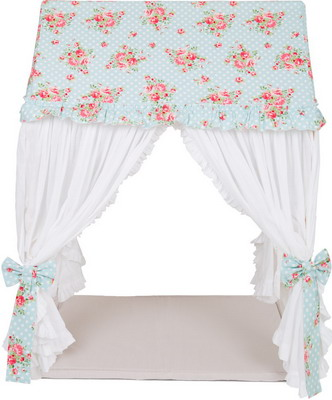 Домик-Шатер BabyDomiki Fairy Rose 115 см (Феи Роз) голубой палатки домики babydomiki игровой домик english shcool