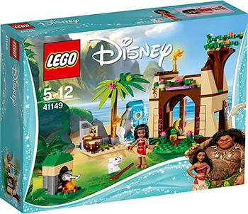 Конструктор Lego Duplo Дисней Приключения Моаны на затерянном острове 41149