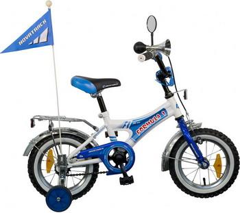 Велосипед Novatrack 12  A  FORMULA синий/белый велосипед novatrack a формула 16 2016 сине белый 167formula bl6