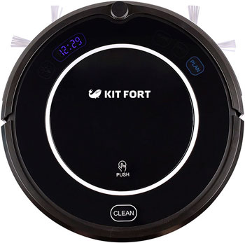 Робот-пылесос Kitfort КТ-504 kitfort kt 516 black робот пылесос