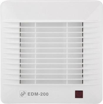 Вытяжной вентилятор Soler amp Palau EDM 200 S (белый) 03-0103-208