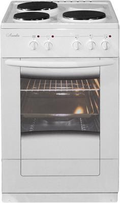 Электроплита Лысьва ЭП 301 М2С белая со стеклянной крышкой электрическая плита лысьва эп 403 м2с белая стекл крышка