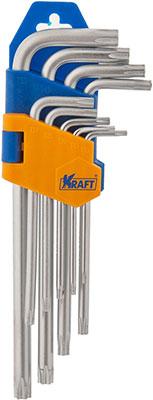 Набор ключей торцевых Kraft KT 700566 набор шестигранных угловых ключей sata 9 предметов metric пластиковый блистер 09107a