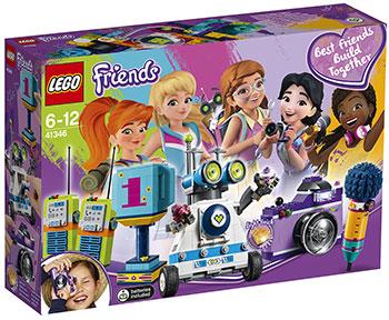 Конструктор Lego Шкатулка дружбы 41346 lego друзей series 6 до 12 лет сердце лейк сити йогурт мороженое магазин 41320 lego детские строительные блоки игрушки