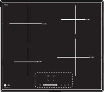 Встраиваемая электрическая варочная панель LG HU 642 PH цена