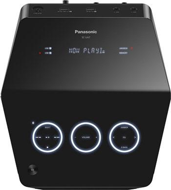 Музыкальный центр Panasonic SC-UA7EE-K минисистема panasonic sc akx200 black sc akx200e k