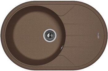 Кухонная мойка Florentina Лотос 780 780х510 мокко FSm искусственный камень florentina лотос 780 мокко
