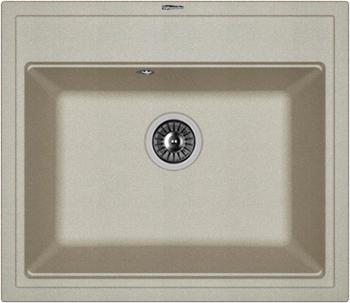 Кухонная мойка Florentina Липси-600 600х510 грей FSm мойка florentina нире 480 грей