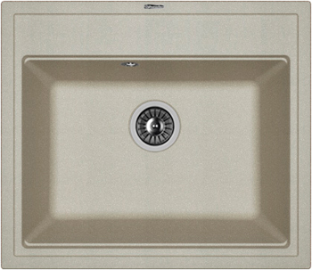 Кухонная мойка Florentina Липси-600 600х510 грей FSm victoria charles gothic art
