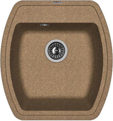 Кухонная мойка Florentina Нире-480 480х510 коричневый FG искусственный камень
