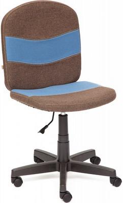 Кресло Tetchair STEP (ткань коричневый/синий 3М7-147/С24) стул компьютерный tetchair step бежевый коричневый