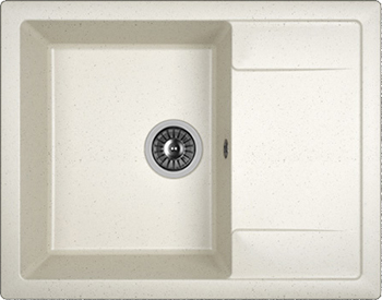 Кухонная мойка DrGans ТЕХНО 650 цвет белый