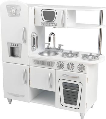 Деревянная кухня KidKraft ''Винтаж'' (подарочная упаковка) цвет Белый 53402_KE детская кухня kidkraft детская игрушечная кухня из дерева винтаж подарочная упаковка