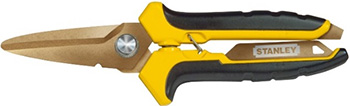 Ножницы по металлу Stanley STHT0-14103 лезвия с титановым покрытием 0-14-103 ножницы по металлу stanley 2 14 568 правые