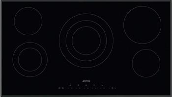 Встраиваемая электрическая варочная панель Smeg SE 395 ETB highscreen boost 2 se