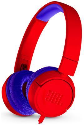 Накладные наушники JBL JR 300 красный JBLJR 300 RED скакалка скоростная proxima crossfit jr 7001 r red