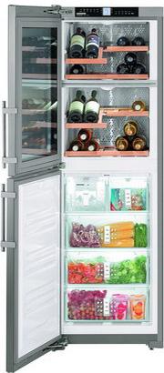 Двухкамерный холодильник Liebherr SWTNes 3010 двухкамерный холодильник liebherr cuwb 3311