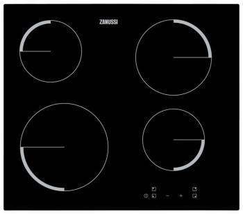 Встраиваемая электрическая варочная панель Zanussi ZEV 56240 FA варочная панель электрическая zanussi zev 6340 xba черный