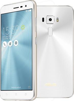 Мобильный телефон ASUS ZenFone 3 ZE 520 KL 32 Gb (90 AZ 0172-M 00590) белый asus zenwatch 3 wi503q silicon