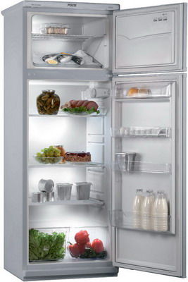 Двухкамерный холодильник Позис МИР 244-1 серебристый холодильник pozis мир 244 1 а 2кам 230 60л 168х60х62см бел