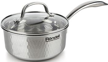 Ковш Rondell RDS-826 RainDrops ковш rondell stern rds 008 1 9л 16см стеклянная крышка нержавеющая сталь черный