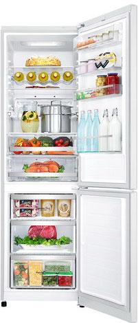 Двухкамерный холодильник LG GA-B 499 SVKZ холодильник с морозильной камерой lg ga b409uqda