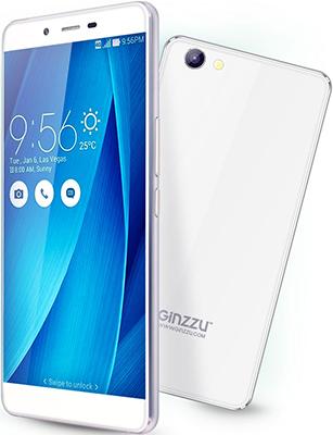 Мобильный телефон Ginzzu S 5040 белый мобильный телефон ginzzu r12 белый